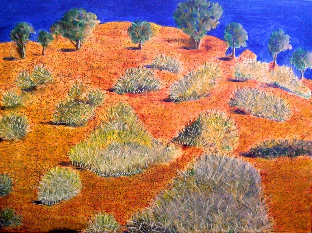 Spinifex landscape