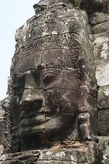 Bayon face carving