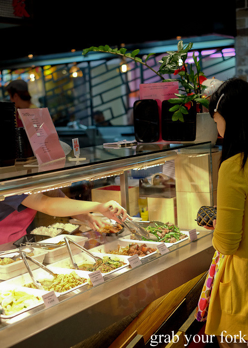 Canteen-style service at Taste of Cho, Market City Chinatown