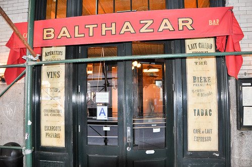 Restaurante Balthazar - Nueva York
