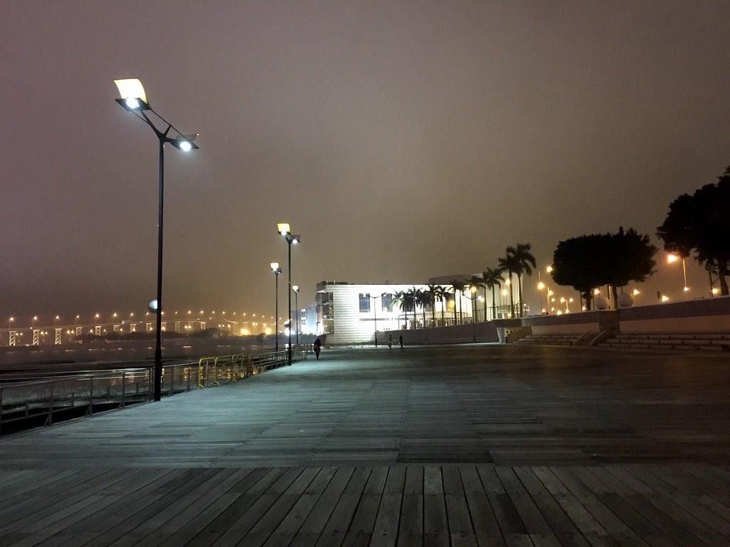 Macau - walking by the harbour