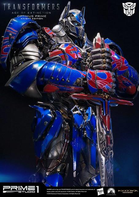 Prime 1 Studio 變形金剛4:絕跡重生【柯博文武士版】Optimus Prime 28 吋全身雕像