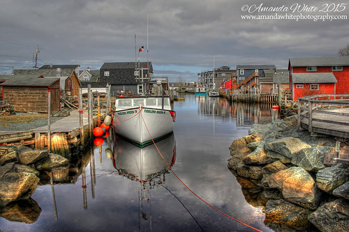 travel canada tourism water reflections landscape boats fishing community novascotia coastal buoys easternpassage fishermanscove omot cans2s