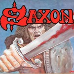 "SAXON S/T SELF-TITLED FRANCE NWOBHM 12"" LP VINYL"