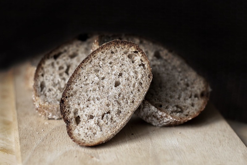 Литовский заварной светлый хлеб/Lithuanian light rye bred with overnight batter and ferment