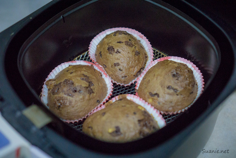 Banana Bread Muffin - airfryer
