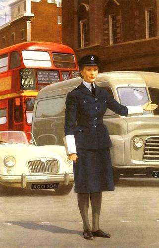 John Berry, The policeman, Ladybird Books, 1962