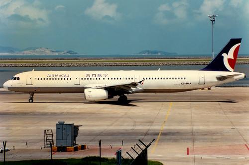 Air Macau | Airbus A321-100 | CS-MAA | Macau International