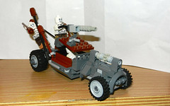 LEGO CUSTOM Citadel Roadster with Half-life War-boys