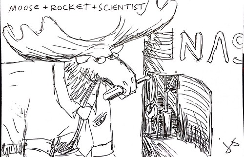 Moose + Rocket + Scientist | by synapse