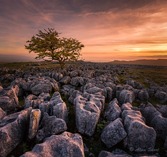 Twisleton scar sunset