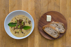 Potato, Leek, Wild Rice and Fennel Soup