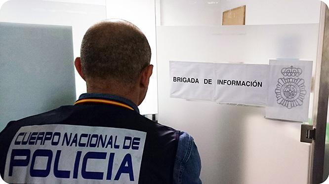 La Policía Nacional identifica y detiene al autor de la amenaza de bomba en el instituto Isaac Peral