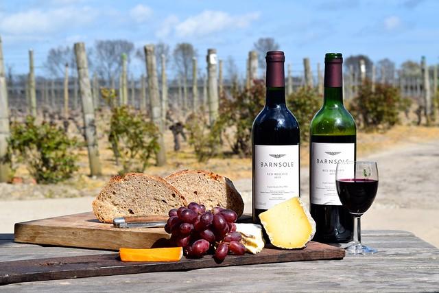 Wine and Cheese at Barnsole Vineyard, Staple | www.rachelphipps.com @rachelphipps