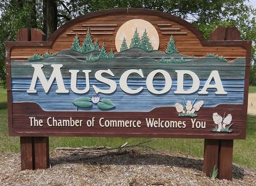 Muscoda Welcome Sign (Muscoda, Wisconsin)