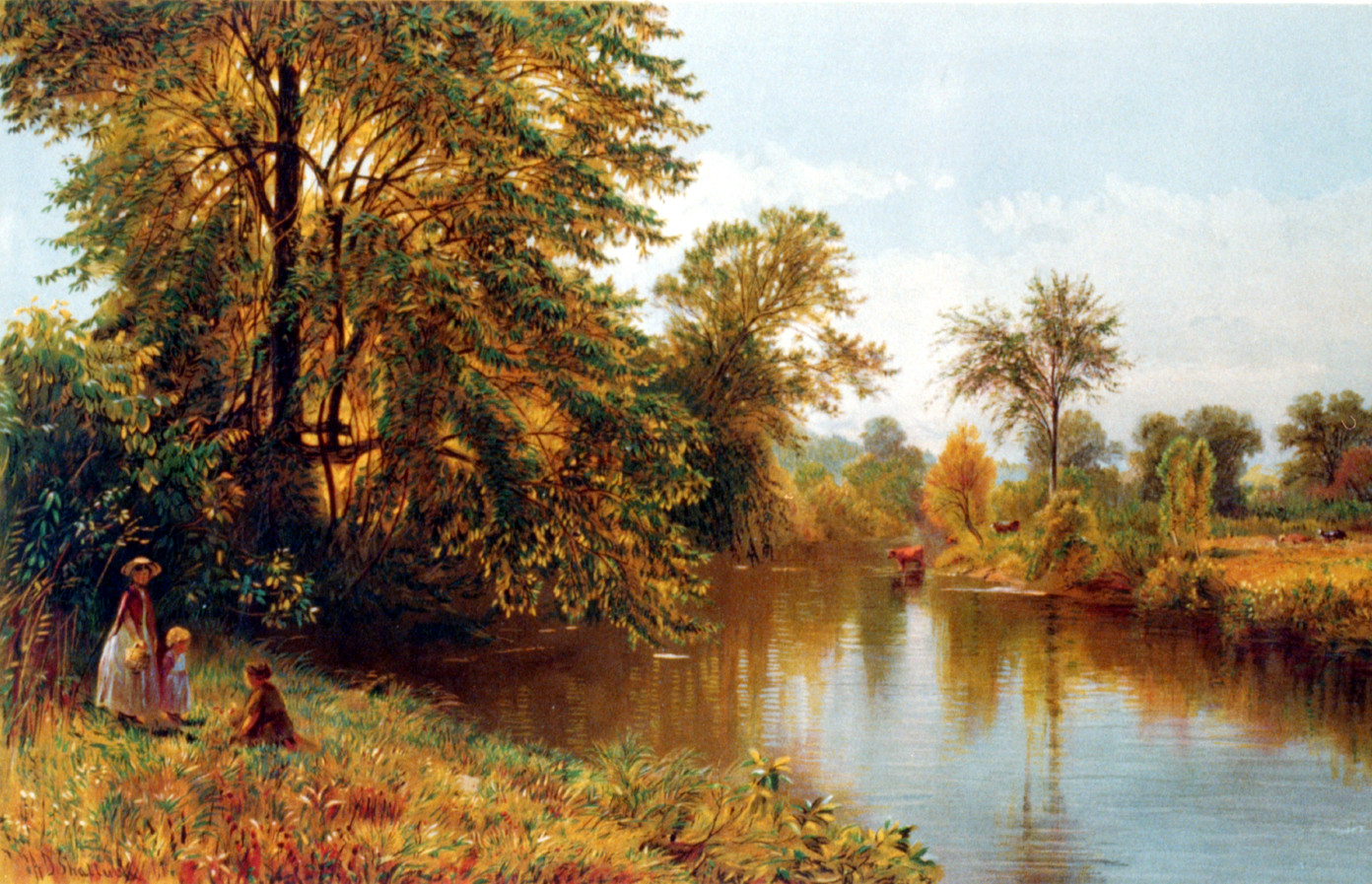 Salmon Branch, Granby Connecticut, 1869