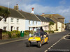 Scilly Cart Company Electric Golf Buggy in Hugh Town, Isles of Scilly