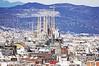 La Sagrada Familia Basilica by Antonio Gaudí
