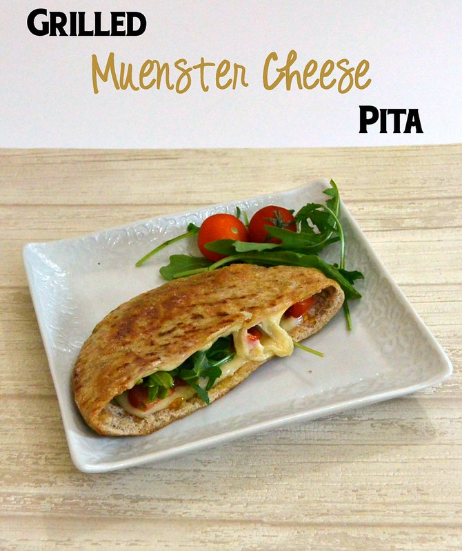 Grilled Muenster Cheese Pita