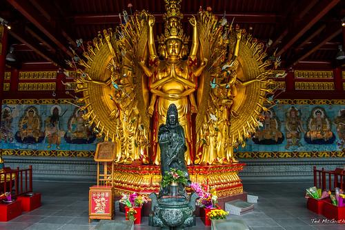 statue urn vancouver temple nikon mural richmond cropped vignetting bodhisattva buddhisttemple vancouverbc kwanyin wallmural 2014 d600 richmondbc mahayanabuddhism cans2s avalokitesvarabodhisattva tedsphotos nikonfx d600fx askuanyintemple askuanyintemplerichmond tenthousandhandtenthousandeyestature fungkaimun sevenbuddhamural chinesemahayanabuddhism