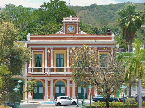city houses square puerto town hall rico valley diaz juana