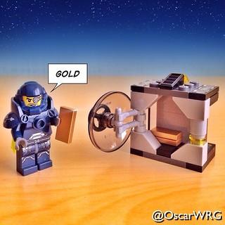 #LEGO_Galaxy_Patrol #LEGO #Gold #Vault #Safe #UltraAgents #Agents @lego_group @lego @bricknetwork @brickcentral