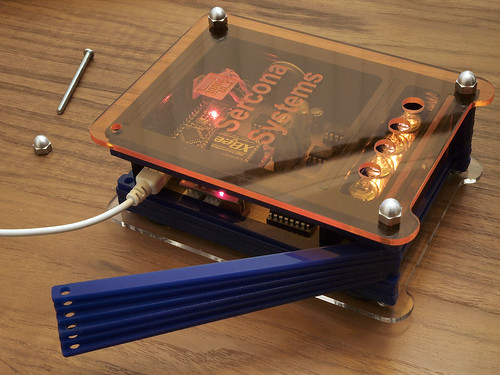 Nixie Clock Side Door