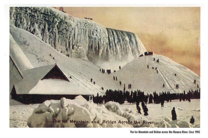 Retro - Niagara Falls - The Ice Mountain