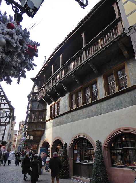 2014.12.26.093 COLMAR - Rue Mercière, maison Pfister