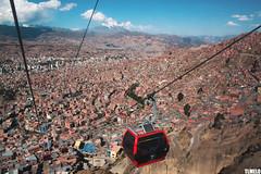 """Mi Telef�rico"" - Illimani Mount - La Paz - Bolivia"