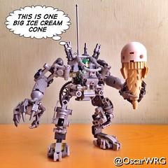 #LEGO #ideas #LEGOideas #EXOsuit #IceCream #Cone #IceCreamCone @lego_group @lego @bricknetwork @brickcentral