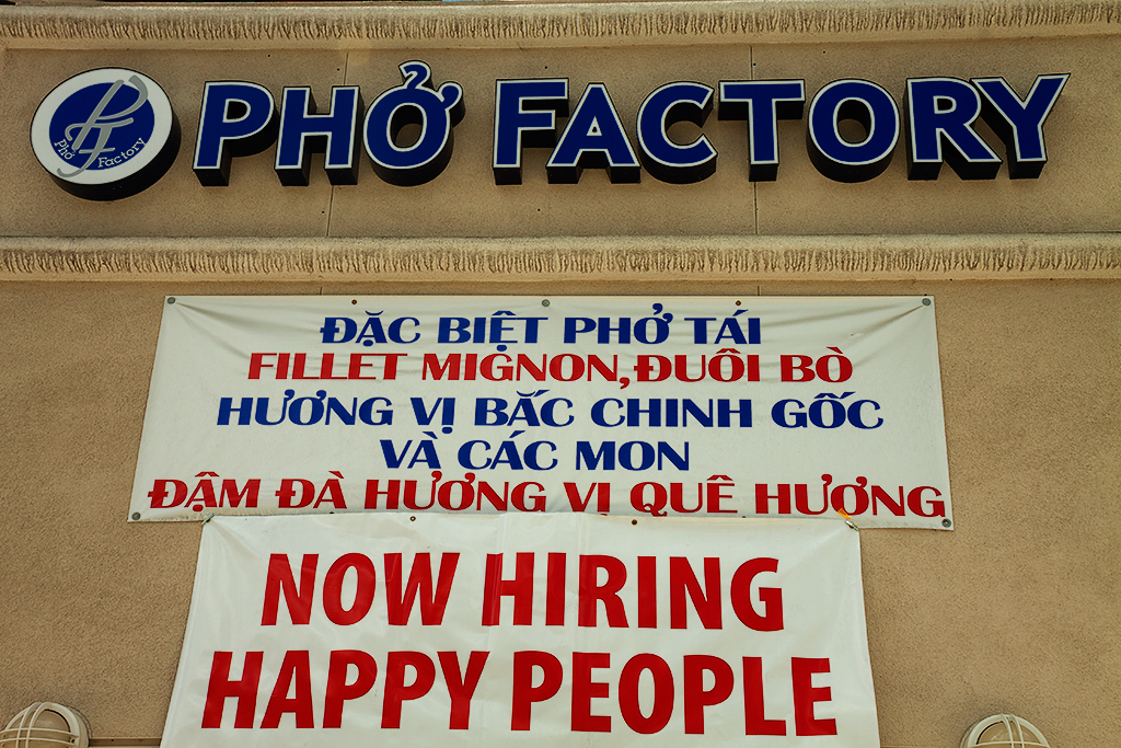 Help-wanted-sign-at-PHO-FACTORY--Milpitas