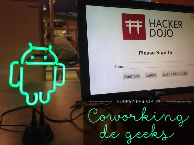 Visita ao Hacker Dojo