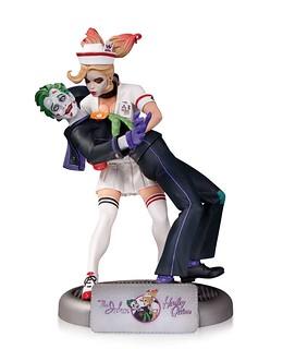 DC Comics – Bombshells 系列 【小丑❤小丑女】The Joker & Harley Quinn 雕像作品