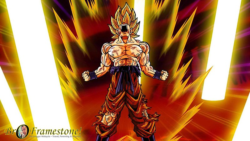 Aura Positif Song Goku Dragon Ball