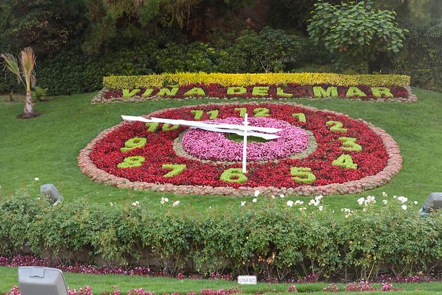 Reloj de flores 2