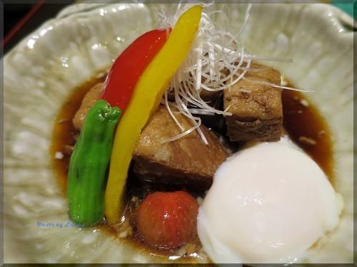 Photo:2015-04-19_T@ka.の食べ飲み歩きメモ(ブログ版)_西京味噌のもつ鍋とポテサラは必食の逸品【大門】はんなり邸_04 By:logtaka