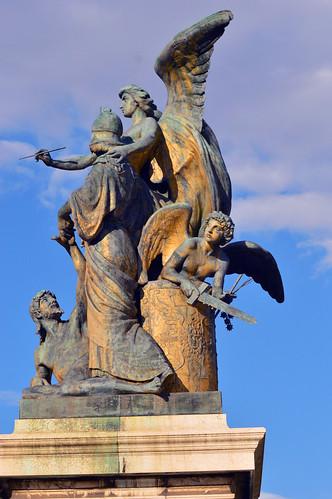 Monumento Nazionale a Vittorio Emanuele II - Statue 8
