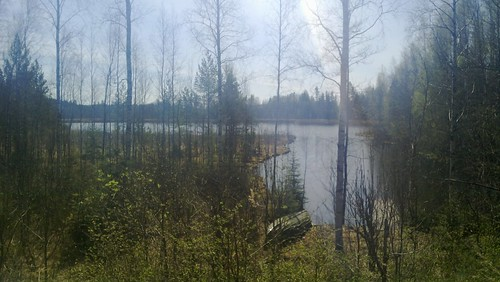 family summer lake finland mökki 2016