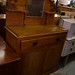 Pitch pine antique 2 door sideboard