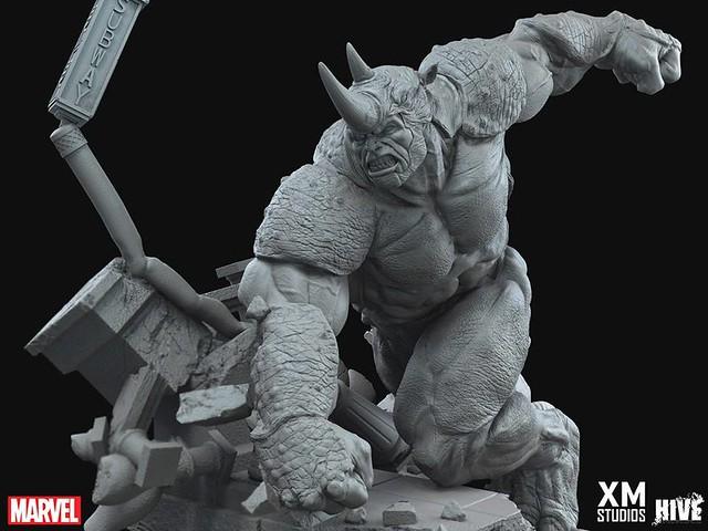 XM Studios®【犀牛人】Rhino 1/4 比例 全身雕像