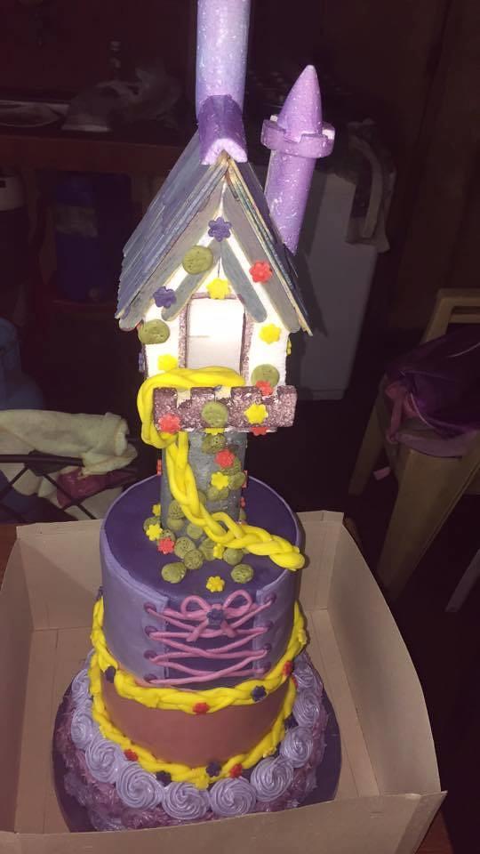 Rapuzel Castle Cake by Hazel Reyes Ponsones
