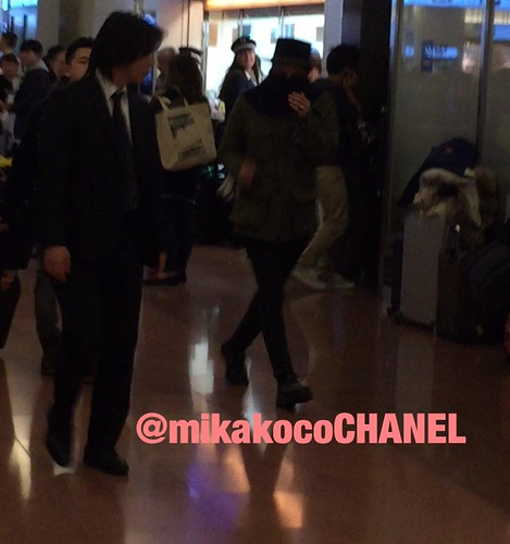 Big Bang - Haneda Airport - 27feb2015 - G-Dragon - mikakocoCHANEL - 04