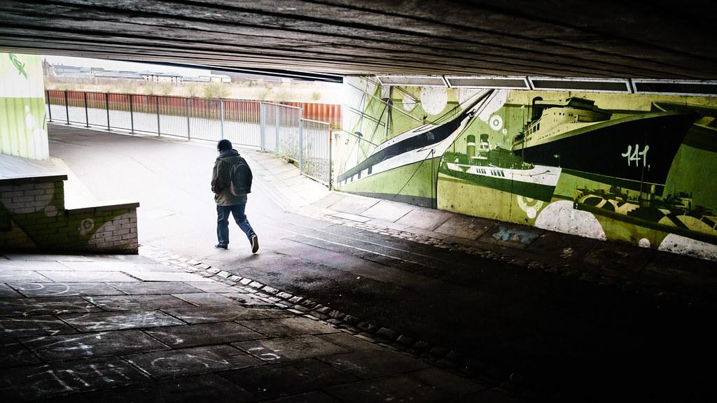 Glasgow, Scotland, Urban street photography picture