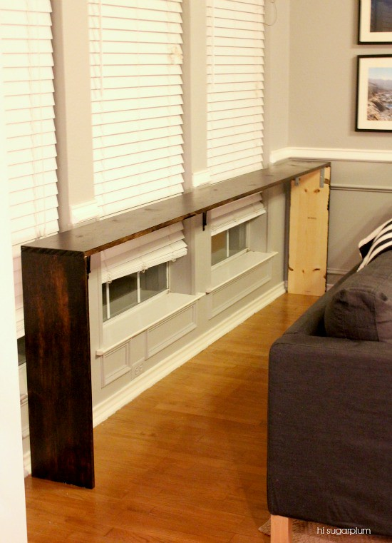 Hi Sugarplum | How to Build a Simple Console Table