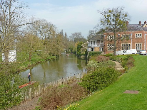 River Cherwell from St Hilda's