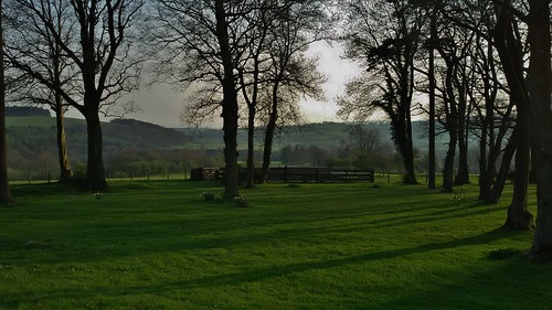 Bolton Hall Estate at Bolton-By-Bowland in the Forest of Bowland Area of Outstanding Natural Beauty, Lancashire, England - April 2015