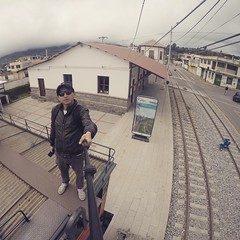 Estación de tren en #Cevallos #Tungurahua #Ecuador #AllYouNeedIsEcuador #gopro #goprolife #gopro_epic #goprorealm