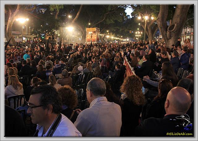 Semana Santa en Málaga. La Alameda y Calle Larios (1)