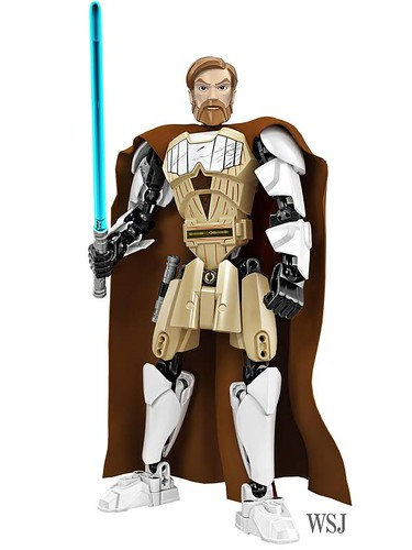 LEGO Star Wars Buildable Figures Obi-Wan Kenobi